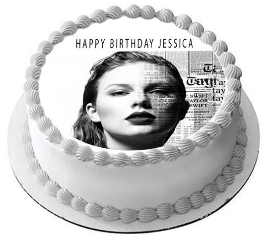 Pleasant Taylor Swift 2 Edible Edible Birthday Cake Topper Funny Birthday Cards Online Elaedamsfinfo