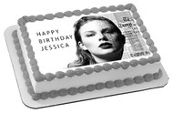 Taylor Swift (Nr2) -  Edible Cake Topper OR Cupcake Topper