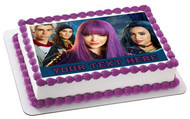 Descendants II Edible Birthday Cake Topper OR Cupcake Topper, Decor