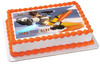 """Edible Cake Topper - 10"""" x 16"""" (1/2 sheet) rectangular Edible Cake Topper - 7.5"""" x 10"""" (1/4 sheet) rectangular"""