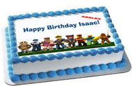 Roblox - Edible Birthday Cake Topper OR Cupcake Topper, Decor