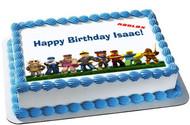 Roblox - Edible Birthday Cake Topper OR Cupcake Topper, Decor