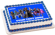 Fortnite - Edible Birthday Cake Topper OR Cupcake Topper, Decor