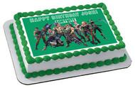 Fortnite (Nr2) - Edible Birthday Cake Topper OR Cupcake Topper, Decor