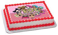 Lol Suprise Dolls (Nr3) - Edible Cake Topper OR Cupcake Topper, Decor