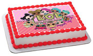 Lol Suprise Dolls (Nr3) - Edible Cake Topper OR Cupcake Topper, Decor