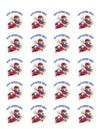 "Edible Cupcake Toppers - 1.8"" cupcake (20 pieces/sheet)"