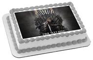 Game of Thrones - Edible Cake Topper OR Cupcake Topper, Decor