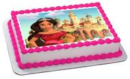Elena Of Avalor - Edible Cake Topper OR Cupcake Topper, Decor