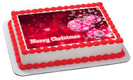 Christmas (Nr9) _ Edible Cake Topper OR Cupcake Topper, Decor