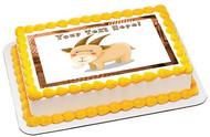 Goat - Edible Cake Topper OR Cupcake Topper, Decor