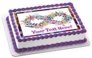 Forever Music - Edible Cake Topper OR Cupcake Topper, Decor