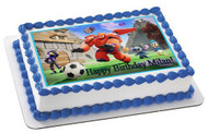 BIG HERO 6  2 Edible Birthday Cake Topper OR Cupcake Topper, Decor