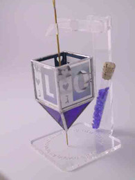 Susan Fullenbaum Break Glass Love Dreidel