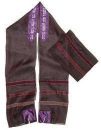 Purple Ice Tallit Set