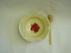 Honey Dish of Ceramic by Vichinsky Pottery