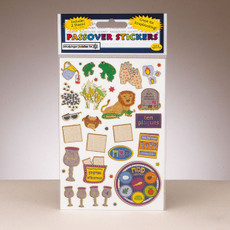 Passover Prismatic Stickers