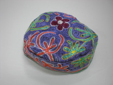 Purple Bukharin Kippah