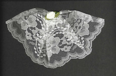 Regular with a Rose Lace Chapel Hat