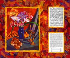 Shabbat Peace Collage