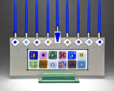 Beames Designs 12 Tribes Menorah