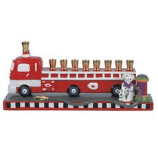 Fire Engine Menorah