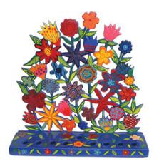 "Yair Emanuel ""Burst of Flowers"" Menorah"