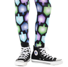 Dreidel Leggings