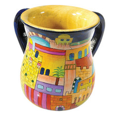 Hand Painted Washing Cup - PURCHASED