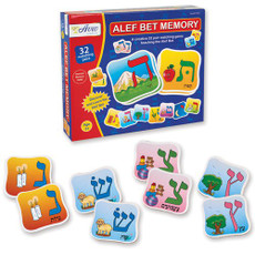 Alef Bet Memory Game