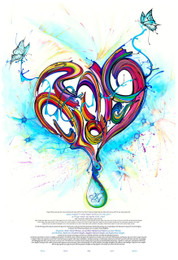 Drop Of Love Ketubah