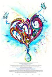 Drop Of Love Ketubah