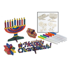 Wood Chanukah Craft Kit