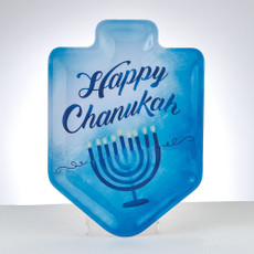 """Sapphire Collection"" Dreidel Shape Melamine Plate"