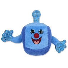 "Plush Musical Dreidel ""Kid"""