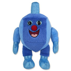 "Plush Musical Dreidel ""Man"""