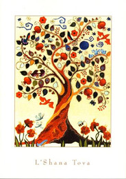 Tree Of Life Boxed New Year Cards