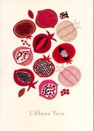 Pomegranate Medley Boxed New Year Cards