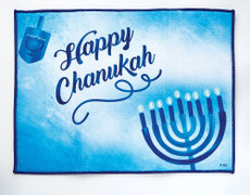 "Chanukah Drying Mat - ""Sapphire Collection"""