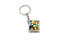 Jerusalem Enamel Psalms Key Chain