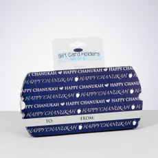 """Happy Chanukah"" Gift Card Holders"
