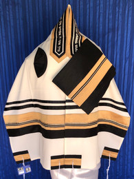 Michal Gold, Brown and Black Tallit Set