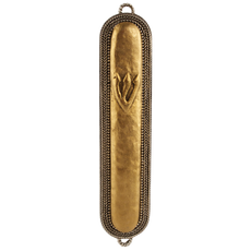 Antique Braid Mezuzah - Small