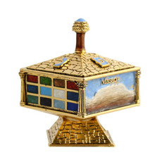 Israel Lover's Dreidel with Stand