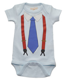 """Larry King"" Onesie"