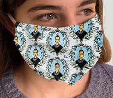 """RBG"" Fabric Face Mask"