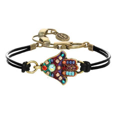 """Michal Golan """"Multi Bright"""" Hamsa Bracelet"""