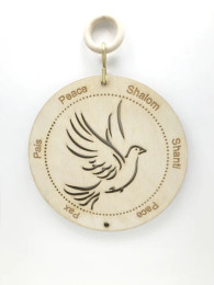 Laser Cut Dove Of Peace Wall Hanging