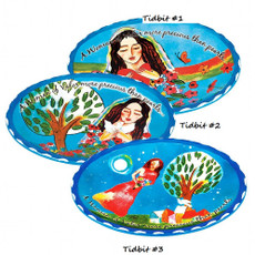 "Woman Of Valor ""Tidbit"" Tray"
