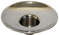 Nickel Drip Cups For Shabbat Candles